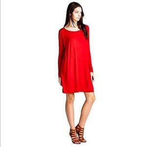 Piko long sleeve dress
